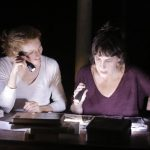 « Deux ampoules sur cinq » librement inspiré des Notes sur Anna Akhmatova de Lydia Tchoukovskaïa, adaptation et mise en scène d'Isabelle Lafon, Maison des Métallos.