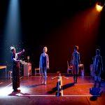 « Sur les cendres en avant » Texte, musiques et mise en scène de Pierre Notte, au Théâtre du Rond-Point
