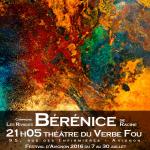 [Avignon OFF] « Bérénice » de Racine, par la Compagnie Les Rivages au Théâtre du Verbe Fou