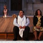 « Quand le diable s'en mêle » d'après trois pièces de Georges Feydeau, « Léonie est en avance », « Feu la mère de madame », « On purge bébé » Adaptation et mise en scène de Didier Bezace au Théâtre de l'Aquarium