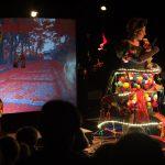 « Où je vais quand je ferme les yeux », texte de Jean Cagnard, co-mise en scène de Sylvie Baillon et Eric Goulouzelle, théâtre des arts de la marionnette Le Mouffetard