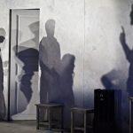 « Shock Corridor », d'après le film de Samuel Fuller, mise en scène de Mathieu Bauer au Nouveau Théâtre de Montreuil.