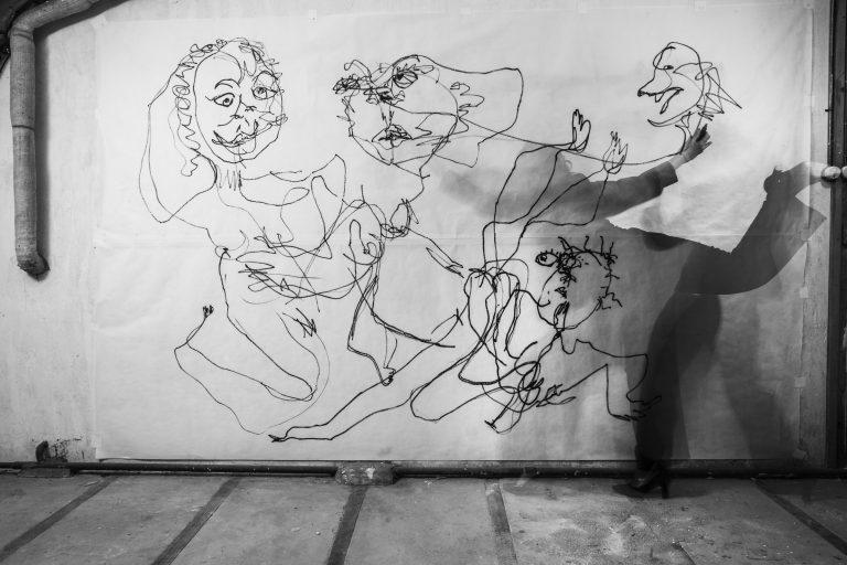 La Fresque - Jeanne Mordoj 3 © Géraldine Aresteanu