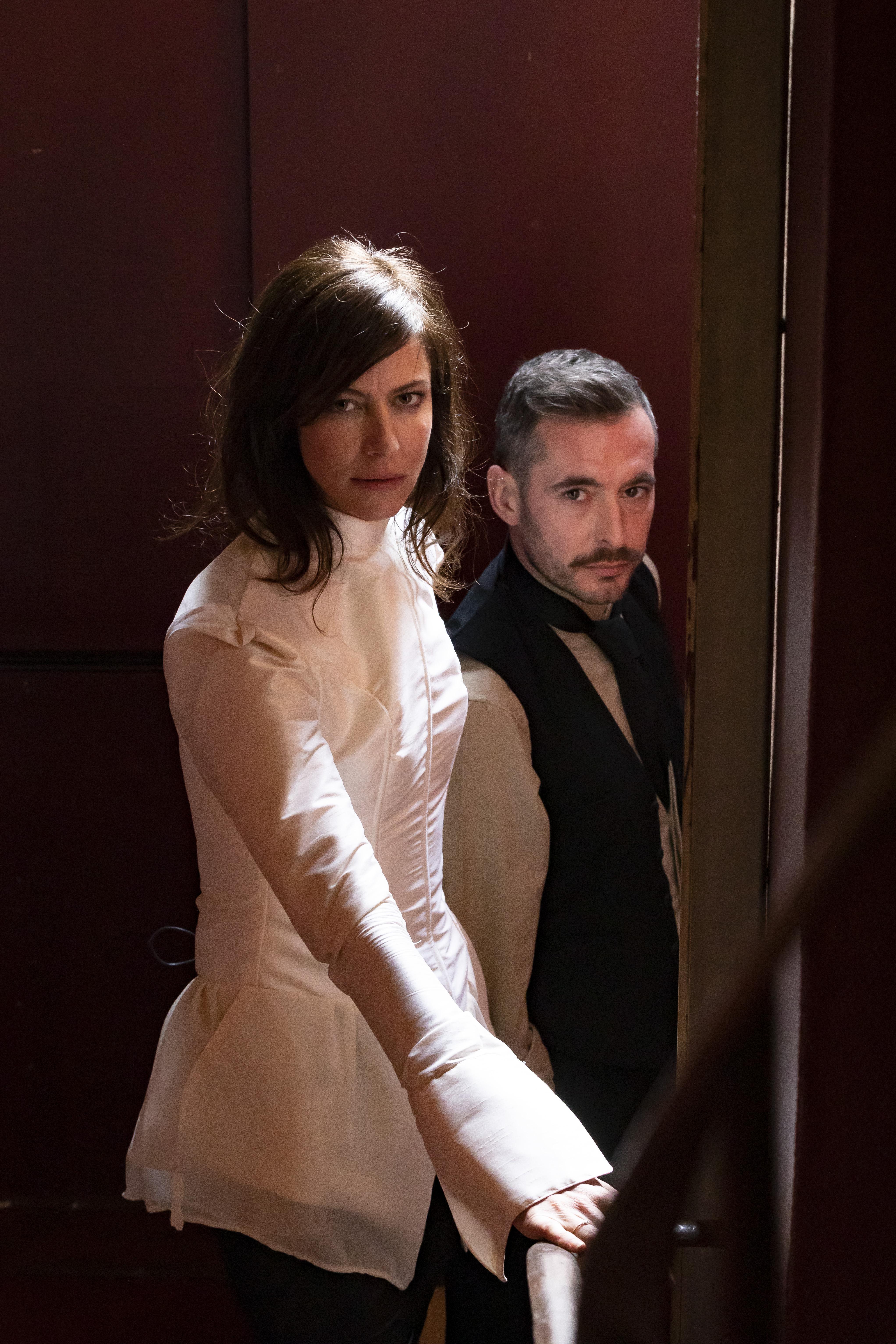 Reportage Pièce Mademoiselle Julie, mise en scène Julie Brochen avec Anna Mouglalis et Xavier Legrand